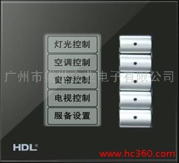 供应智能家居 智能酒店 智能照明 智能办公 LCD控制面板