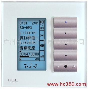 供应智能家居 智能照明 智能酒店 LCD多功能开关