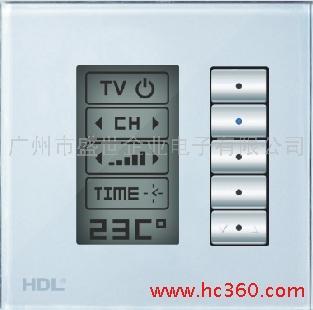 供应智能家居 智能酒店 智能照明 LCD按键开关