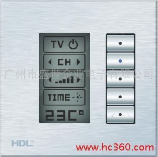 供应智能家居 智能照明 智能酒店 LCD开关面板