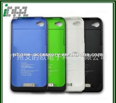苹果背夹电池 iPhone4/4s 电池外壳 移动备用电源