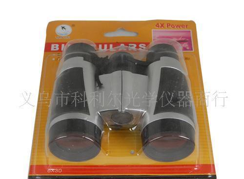 玩具4X30望远镜 4倍望远镜 塑料望远镜