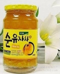 供应康家KJ韩国食品kj柚子茶红黄麦鑫茶饼干