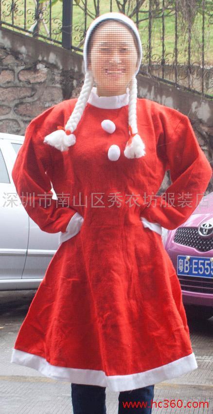 供应圣诞服装 圣诞帽外贸
