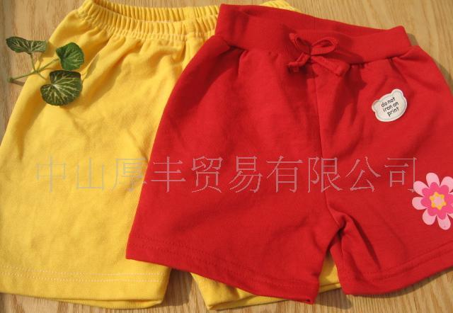 供应外贸童装婴幼儿服装 尾单婴儿短裤 宝宝短裤 外贸儿童短裤特价