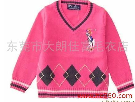 供应秋装外贸童装毛衣。儿童服装