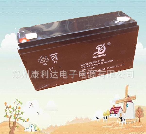 浙江铅酸免维护蓄电池6V12AH主要用于儿童玩具车,电动自行车等