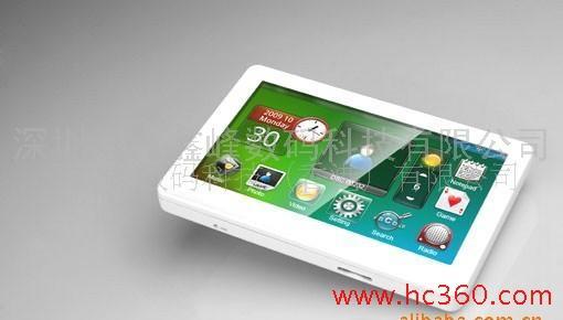 全屏触摸设计MP5/音频智能管理/视频智能管理/电子书智能管理系统