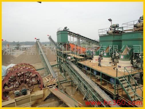 供应浙江黑白矿机砂石生产线设计 指导 安装 调试