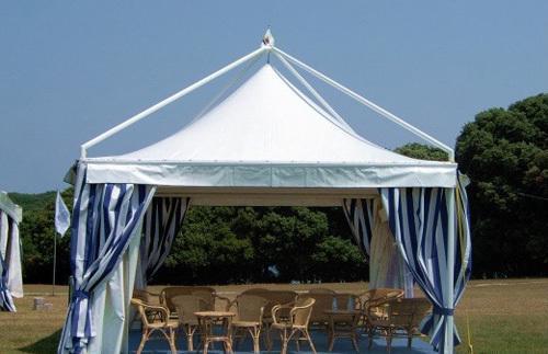 5*5 德国标准 吊顶蓬 防水 防紫外线设计(含围帘)